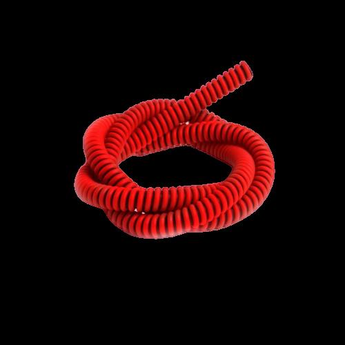 Шланг S1 силиконовый Bazooka – Kayaba, сolor black+red