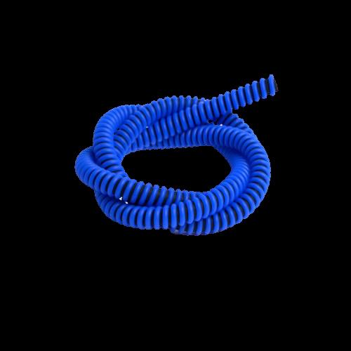 Шланг S2 силиконовый Bazooka – Kayaba, сolor black+blue
