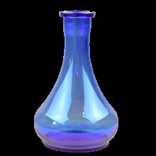 Колба Капля со швом (Синий перламутр)