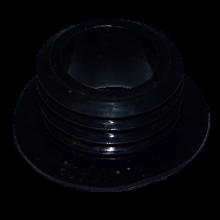 Уплотнитель для колбы толстый (Черный)