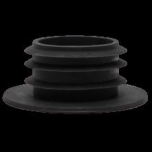 Уплотнитель для колбы с шляпкой (Черный) (Тонкий)
