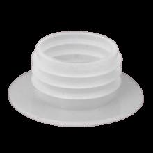Уплотнитель для колбы с шляпкой (Белый) (Тонкий)