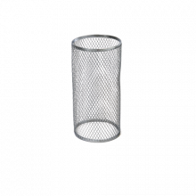 Сетка для углей BZ, цвет серебро (1 кор/800 шт)