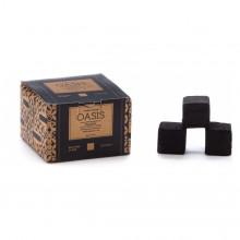 Кокосовый уголь Oasis Premium Coal 25мм (72 упаковок по 18 кубика)